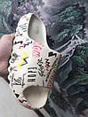 Мужские тапочки Adidas Yeezy Slide Graffiti Custom, фото 7