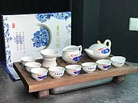 Порцеляновий набір посуду з Дехуа «Китайський стиль», фото 1