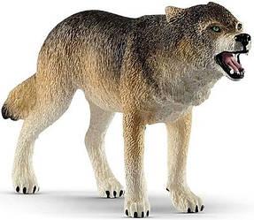 Schleich 14821 фигурка Волк Wild Life Wolf Figurine