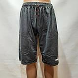 Шорти чоловічі трикотажні літні (великих розмірів) 56, 58,60, 62,64 відмінної якості, фото 2