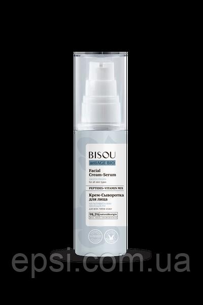 Крем-сироватка для обличчя Bisou Мультивітамін Молодості AntiAge Bio Facial Cream Serum 50 мл 4680043730322