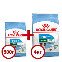 Royal Canin Mini Puppy 4кг+0,8кг - корм для цуценят міні порід