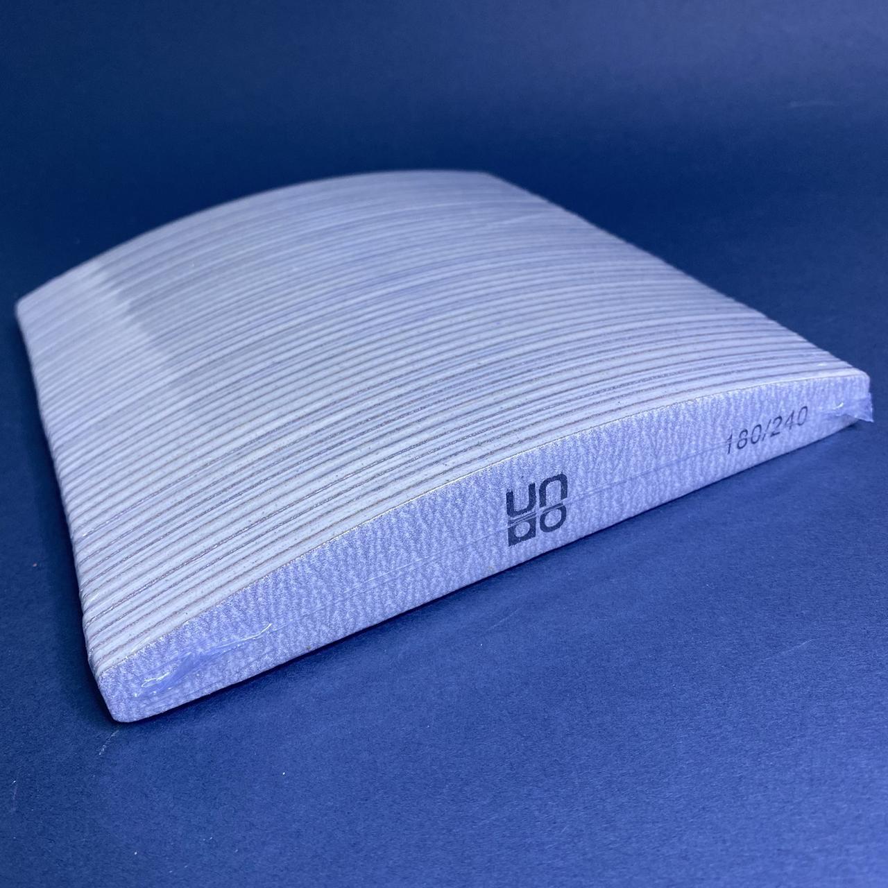 Пилочки для нігтів човник UNO абразив 180/240 набір 50 шт