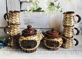 Керамический чайный набор Керамклуб Лоза