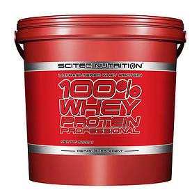 Протеїн Scitec 100% Whey Protein Professional, 5 кг Полуниця-білий шоколад