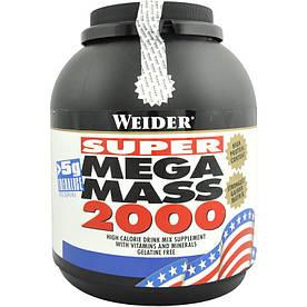 Гейнер Weider Mega Mass 2000, 3 кг Ваниль