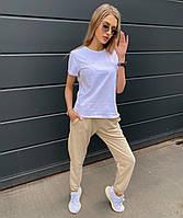 Женский летний спортивный костюм с футболкой