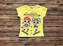 Детская футболка ЛОЛ для девочки на 1-8 лет, фото 4