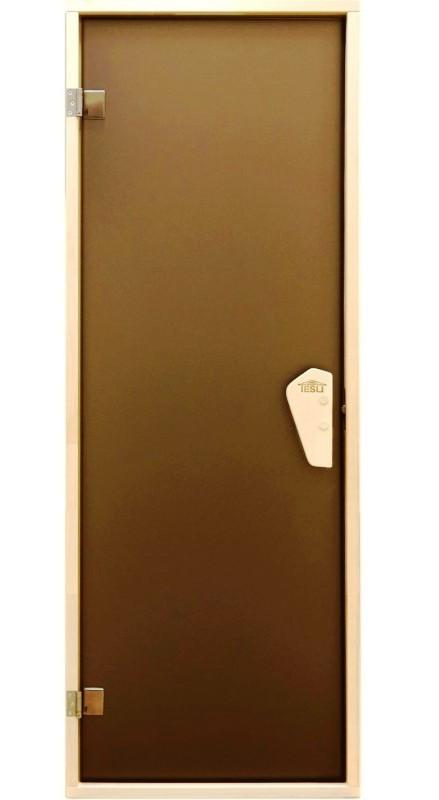 Дверь для сауны и бани Tesli RS 180*70 (тон бронза)