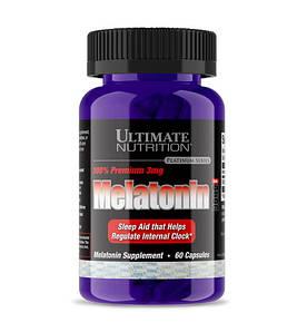 Відновник Ultimate Melatonin 100% Premium, 60 капсул