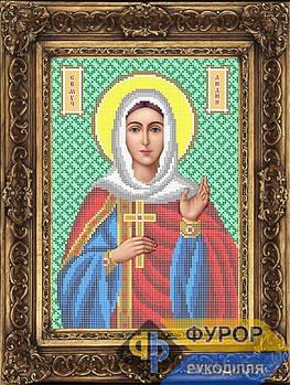 Схема для вышивки бисером иконы Святая мученица Лидия (ИБ4-047-1)
