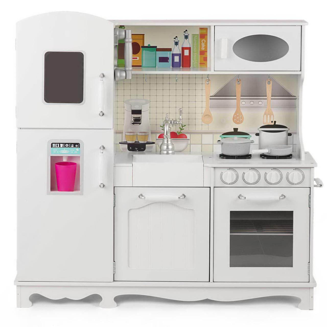 Дитяча дерев'яна кухня Lolly Kids LK508 + аксесуари (9385)