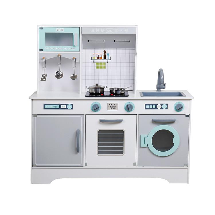 Детская деревянная кухня Lolly Kids LK566D + аксесуары (9386)
