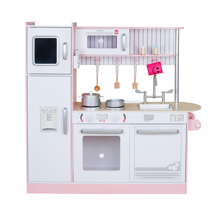 Дитяча дерев'яна кухня Lolly Kids LK481B + аксесуари (9388)