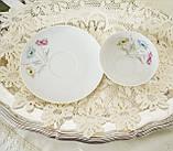 Вінтажна порцеляновий чайна двійка, чашка і блюдце, Limoges porcelain, Франція, фото 3