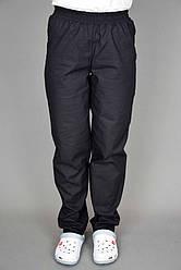 Брюки поварские Lux-Form Чёрные Бязь 102399