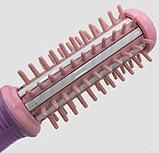 Мини-расческа выпрямитель Clefers Curly Mini Mini электрическая | Утюжок+Расческа 2в1 автоматическая, фото 3