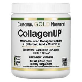Для суглобів і зв'язок California Gold Nutrition CollagenUP, 206 грам