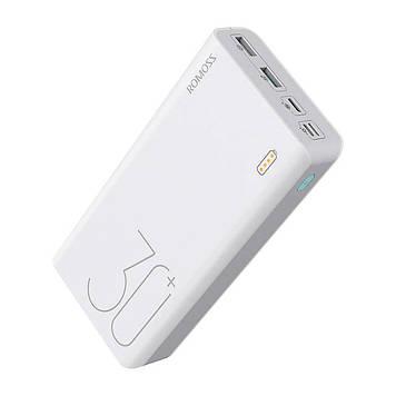 Банк заряда ROMOSS Sense 8+ 30000mAh white