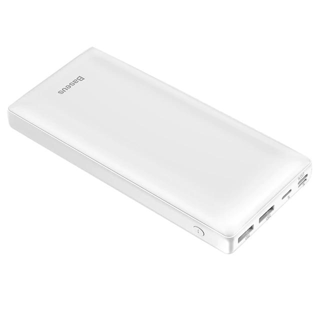 Банк заряду Baseus X30 2xUSB+Type-C 30000mAh 15W white