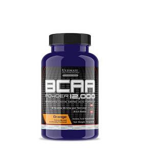 BCAA Ultimate BCAA 12 000 Powder, 7.6 грамм Апельсин