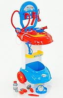 Детский игровой набор доктор 661-170 медицинские инструменты УЦЕНКА ( наклеены наклейки)