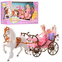 Карета с лошадью и куклой 207A