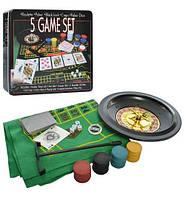 Настольная игра X14314 рулетка - детский игровой набор УЦЕНКА ( повреждена упаковка)