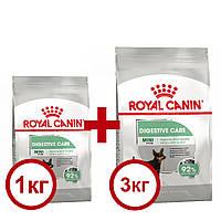 Royal Canin Mini Digestive Care 3кг+1кг -корм для собак міні порід з чутливим травленням