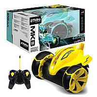 """Машинка перевертыш на радиоуправлении гоночная """"Stingray Sneak"""" (желтый) MKB (5588-612)"""