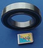 Подшипник качения 6211 2RS радиальный однорядный уплотнённый марки CX шарикоподшипник закрытого типа стальной, фото 3