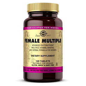 Витамины и минералы Solgar Female Multiple, 120 таблеток