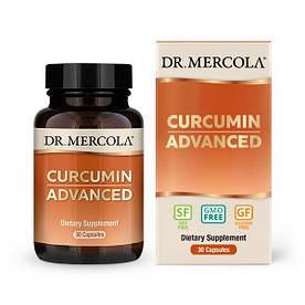 Натуральна добавка Dr. Mercola Curcumin Advanced, 30 капсул
