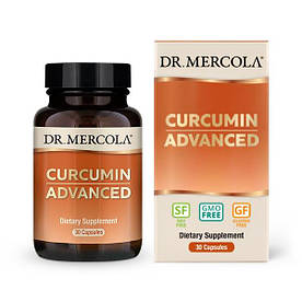 Натуральная добавка Dr. Mercola Curcumin Advanced, 30 капсул