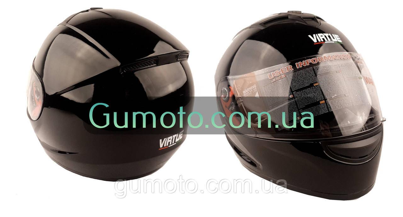 Шолом MD-803 Virtue чорний глянець