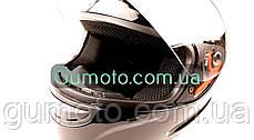 Шолом MD-803 Virtue чорний глянець, фото 3