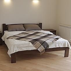 Ліжко дерев'яне двоспальне Дональд (масив бука)