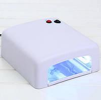 Лампа для маникюра UV Lamp 818 36W, Лампа для ногтей Белая