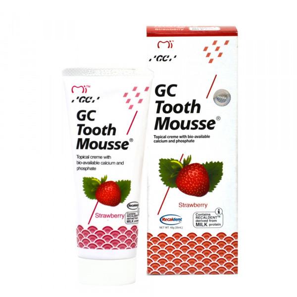TOOTH MOUSSE Strawberry гель-крем для зубів, 35мл