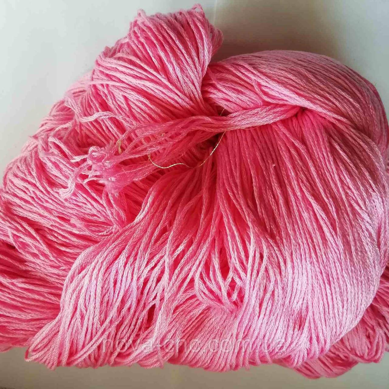 Нитки  Мулине Цвет розовый упаковка 240г.
