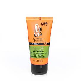 Солнцезащитный крем-экран для лица и зоны декольте SPF 30 BioWorld Luxury Therapy 50 мл