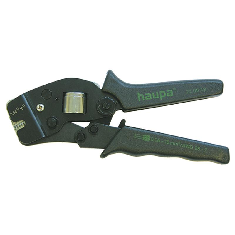 Обжимной инструмент (0.08-16мм) для втулочных наконечников (Haupa) 211810