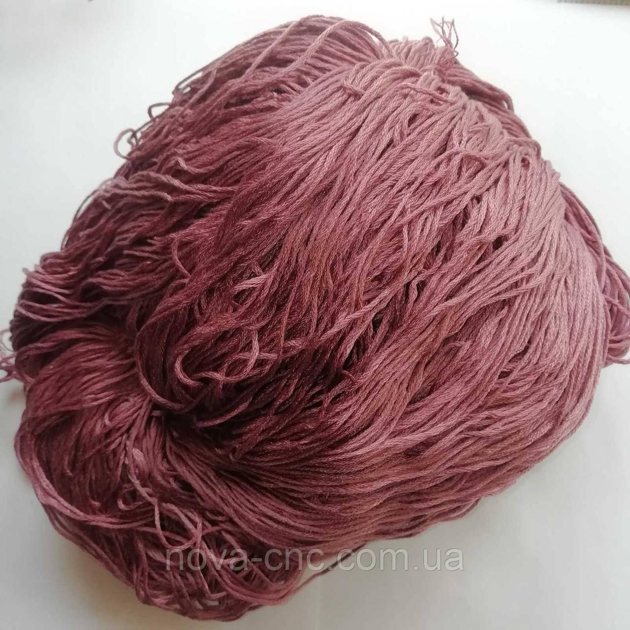 Нитки  Мулине Цвет бледно-лиловый упаковка 235г.