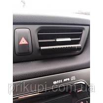 Освежитель воздуха в автомобиль (ароматизатор в машину) ZSS + 5 сменных картриджей Black, фото 2