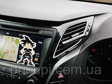Освежитель воздуха в автомобиль (ароматизатор в машину) ZSS + 5 сменных картриджей Black, фото 3