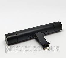 Освіжувач повітря в автомобіль (ароматизатор в машину) ZSS + 5 змінних картриджів Black, фото 3