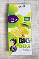 Пахучка в машину багаторазова Tasotti Лимон до 60 днів Великий, фото 2
