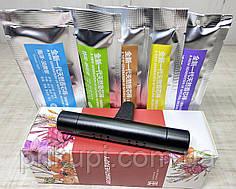 Пахучка в машину на дефлектор (ароматизатор для автомобиля) Vent + 5 сменных картриджей Black