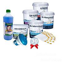 Химия для бассейна «Аква Набор MINI 8в1» IntexPool 80521