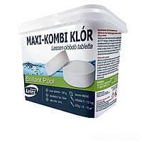 Таблетки для бассейна Max «Комби хлор 3 в 1» Kerex 80004, 5 кг, Венгрия